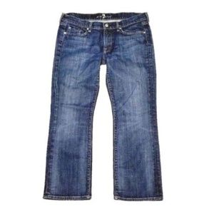 7 FOR ALL MANKIND 32 Lowrise Bootcut Jeans